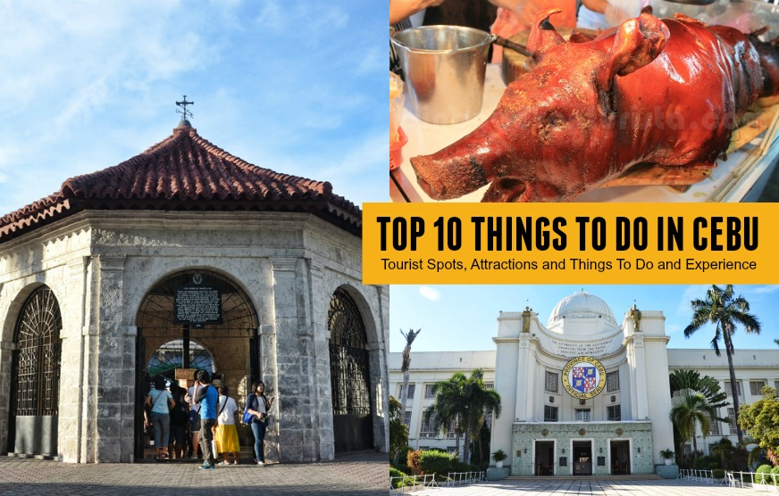 Top Picks 10 Things To Do In Cebu Tourist Spots Attractions And Things To Do And Experience