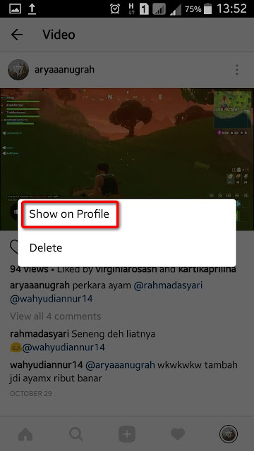 Cara Menghilangkan Foto Instagram Tanpa Menghapusnya