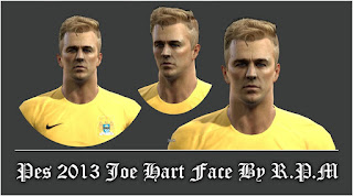 Face Joe Hart 2016 Pes 2013 By R.P.M