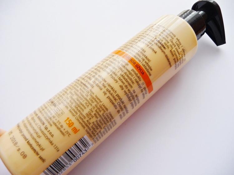 olejek w kremie do włosów Marion