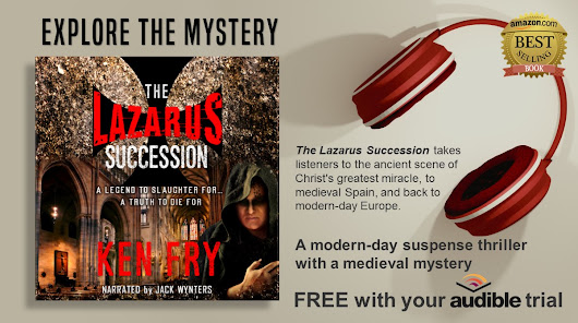 Ways to Listen to The Lazarus Succession Audiobook