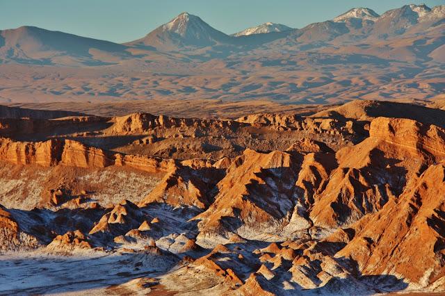 Vale da Lua, ou Cordilheira de Sal, no Deserto do Atacama