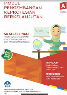 Download Modul PKB Guru SD Kelas Atas dan Bawah Revisi tahun 2017 Lengkap Semua Mapel I Modul PKB dari  A - J Untuk Guru SD Kelas Tinggi Revisi 2017 Terbaru