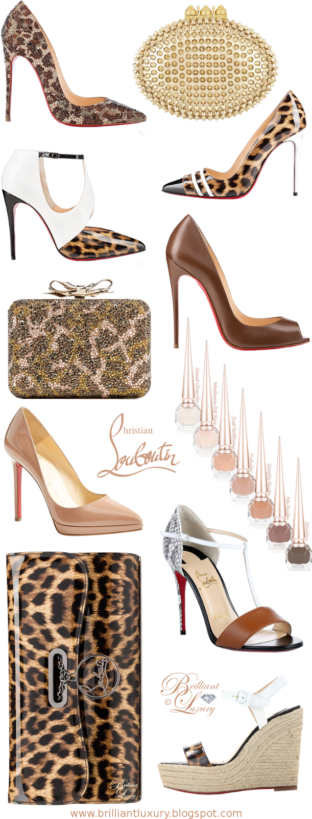 Brilliant Luxury ♦ Christian Louboutin Nude Collection