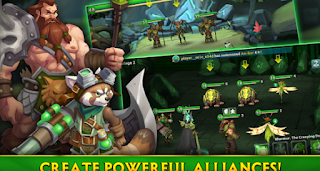 Download Alliance Heroes Of The Spire Rpg v62893 Apk (Mega Mod)