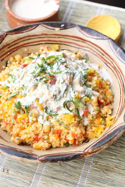 recette arménienne pilaf sauce sésame