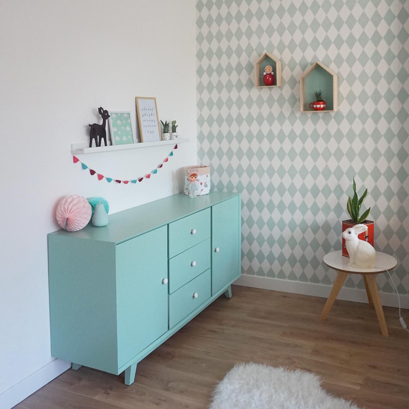 Een grote kamer voor ons kleine meisje sproetesnoet - Welke kleur verf voor een kamer ...