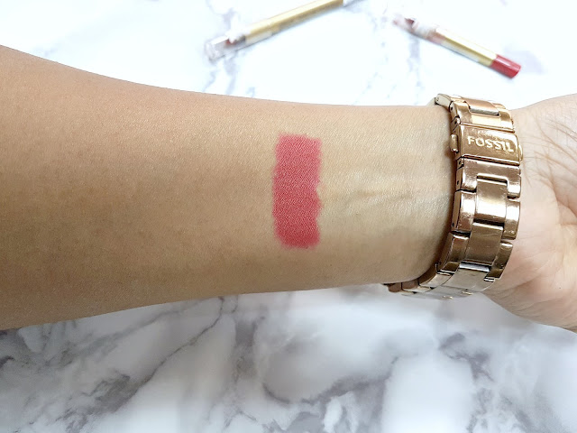 Swatch of the Max Factor Colour Elixir Lip Liner in No. 10 Red Rush