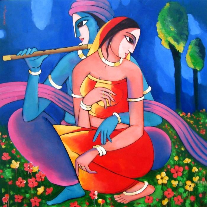 Sekhar Roy. Современный индийский художник 13
