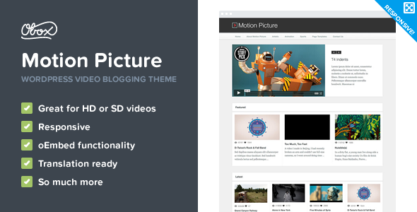 video website theme