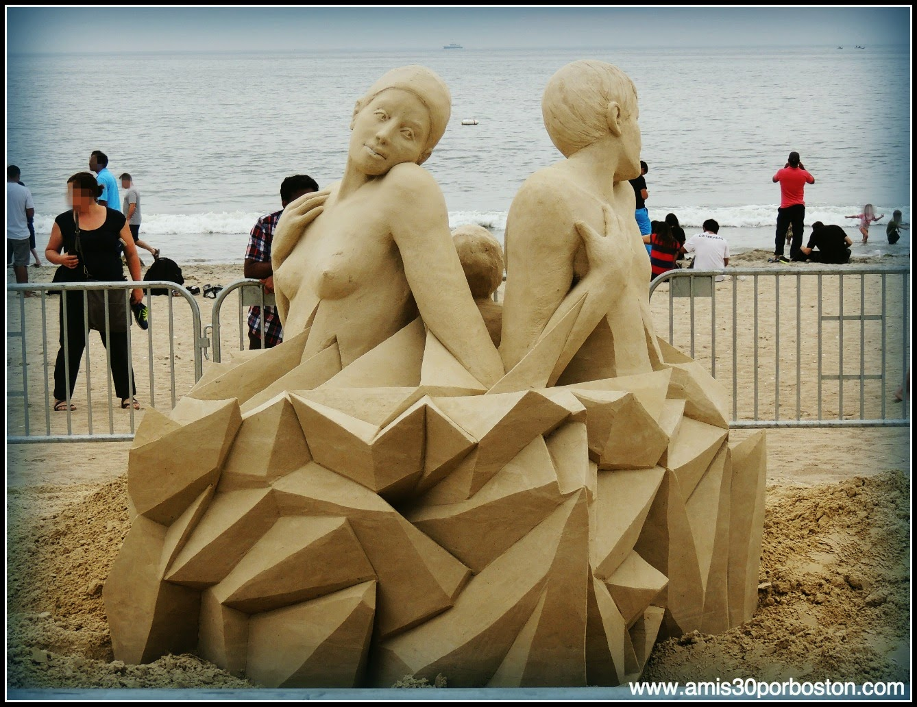 "Revere Beach 2014 National Sand Sculpting Festival: ""On The One You Love"""