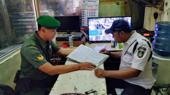 Jaga Kodusifitas Wilayah, Babinsa Kelurahan Kemlayan Gemar Laksanakan Komsos Dengan Scurity