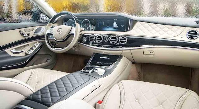 Bảng Taplo Mercedes Maybach S600 2017 thiết kế nổi bật với nhiều điểm nhấn