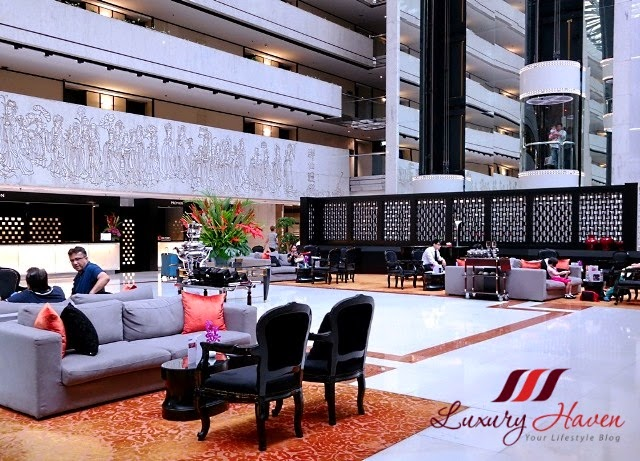 singapore concorde hotel lobby review