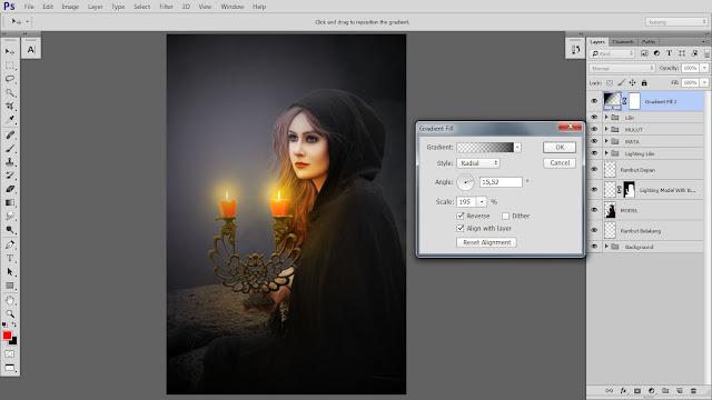 40 Design cover buku Novel dengan Photoshop CC part2