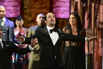 "Cast of ""Hamilton"" at the 2016 Tony Awards"