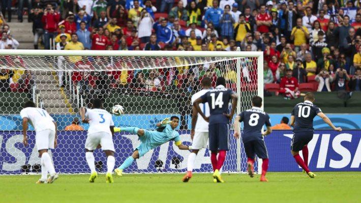 Wallpaper: France vs Honduras at World Cup 2014