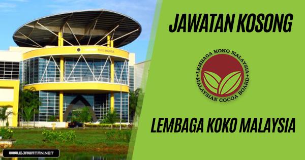jawatan kosong Lembaga Koko Malaysia (LKM) 2019