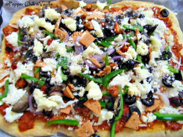 homemade tray pizza recipe