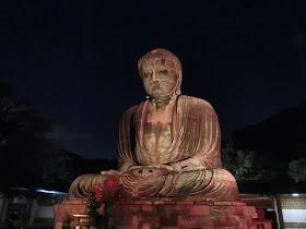長谷の灯かり・鎌倉大仏