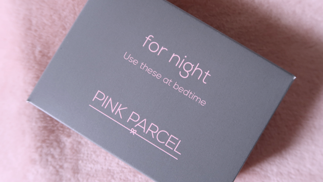 pink parcel for night box