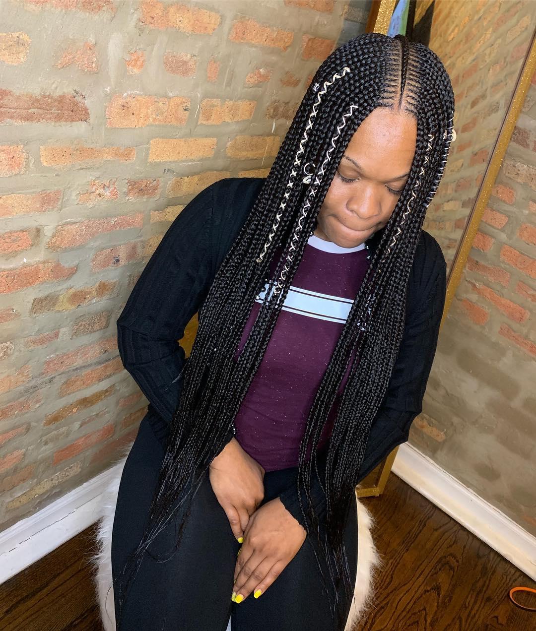 32 Cute Feed In Braids Hairstyles Ways To Rock In 2019 Styleuki