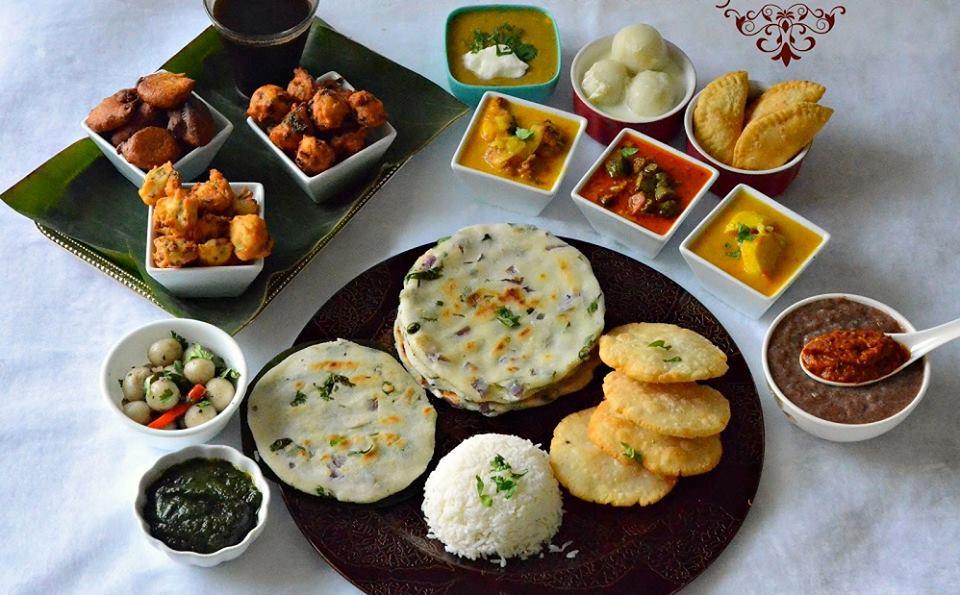 famous indian food trickdump chhatishgrah