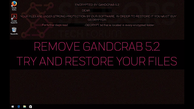 Virut WannyCry. GandCrab