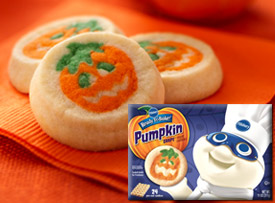 OmNomNoms: Pillsbury Ready-to-Bake Pumpkin Cookies