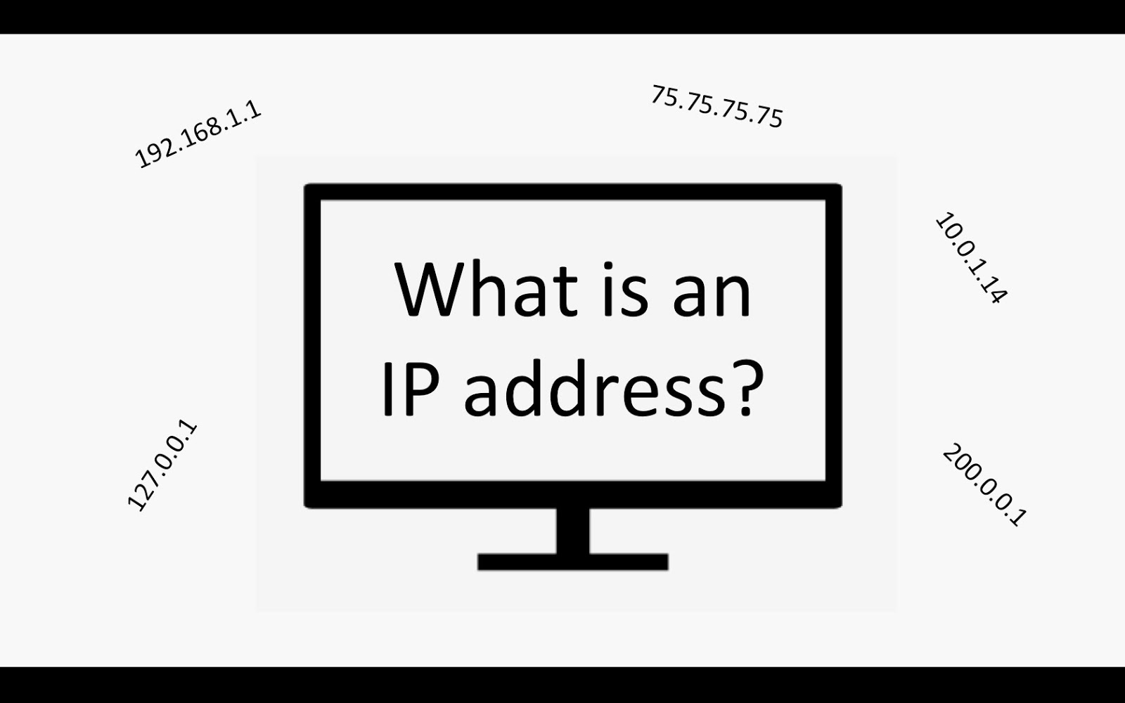 how to set laptop ip address