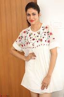Lavanya Tripathi in Summer Style Spicy Short White Dress at her Interview  Exclusive 166.JPG