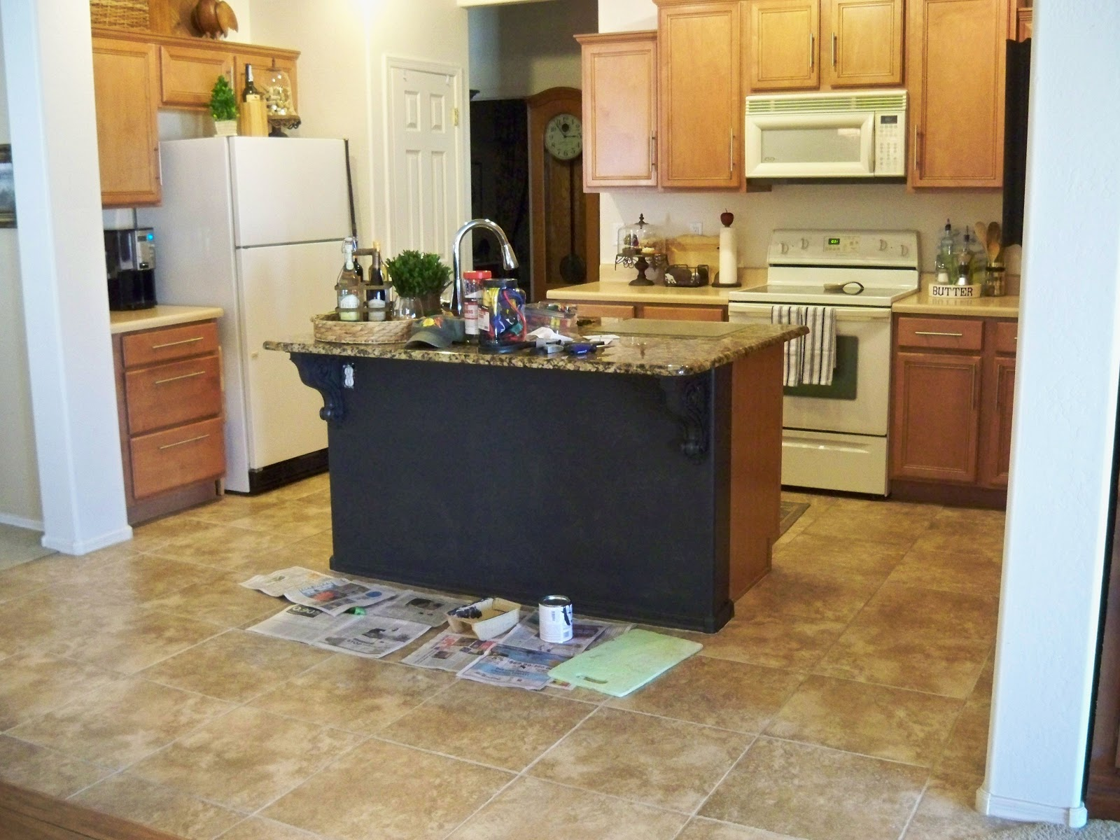Awesome Painted Kitchen Island Give Me Your Input