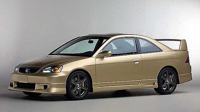 2001 Honda Civic @ Quatro Rodas