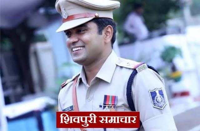 जागरूकता और यातायात मैनेजमेंट के जरिए यातायात को मैनेज कर रहे है सूबेदार रणवीर सिंह | Shivpuri News