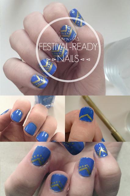 ISOSCELLA | Festival-ready Nail Art
