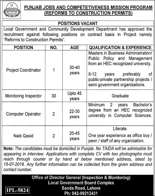 Local Government And Community Development Jobs 2019