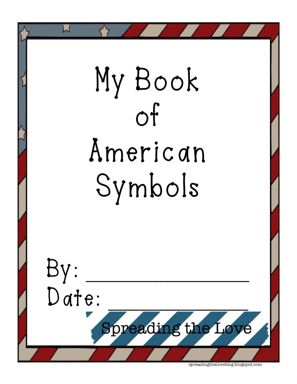 Spreading The Love Lesson Planning American Symbols