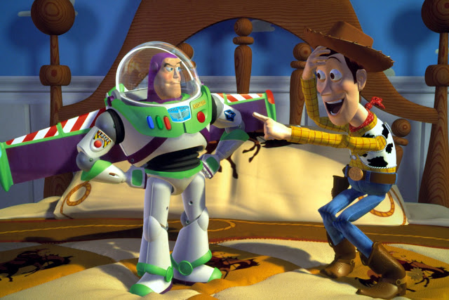 "Buzz Lightyear and Woody got Pixar started back in 1995 with ""Toy Story"""