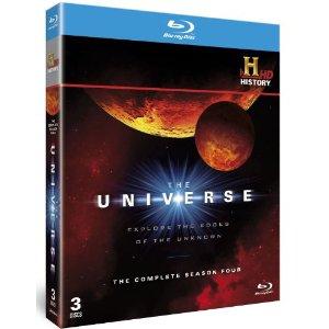 The Universe Season 4 Set of Blu-ray disks
