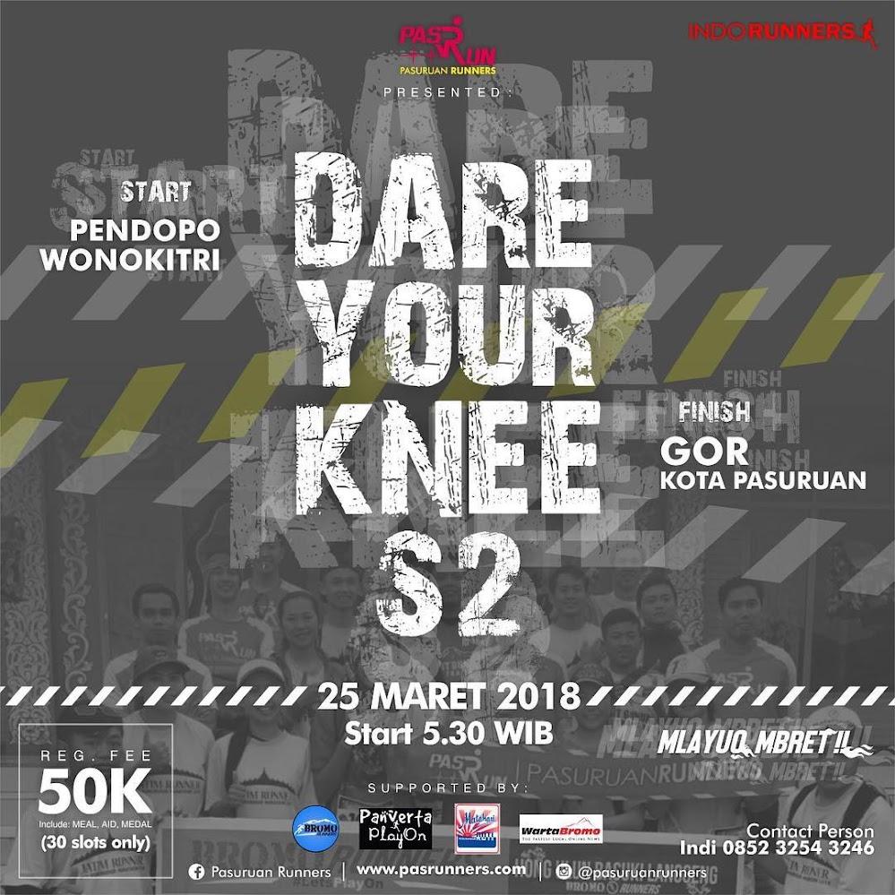 Dare Your Knee • 2018