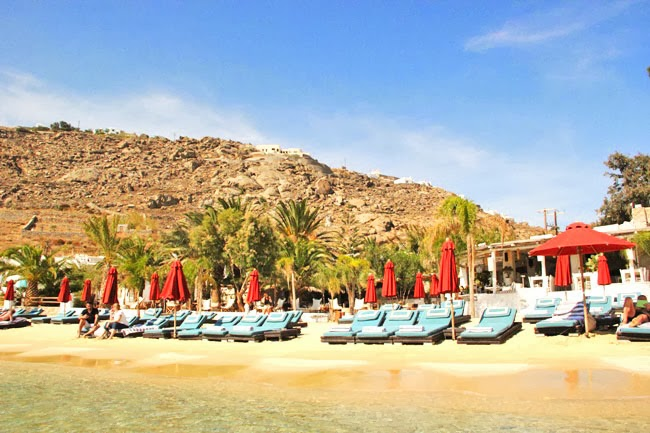 best and most expensive Mykonos island beaches