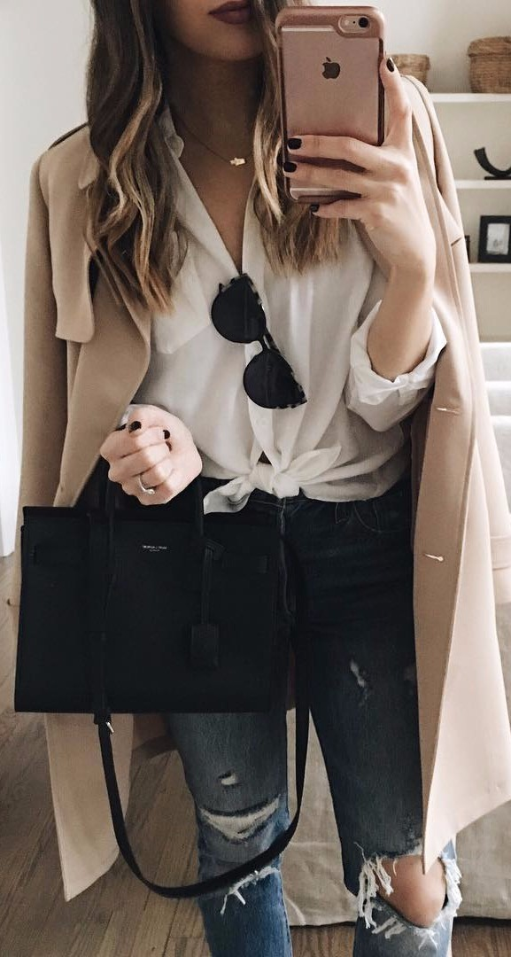 casual classics | the chicest way to get dressed to the office