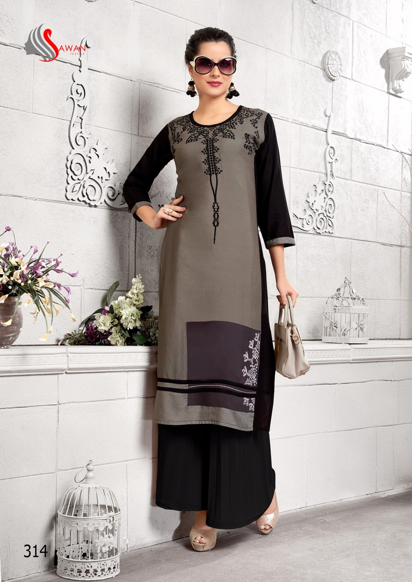 HONEY Volume-3-New Arrival Designer 14kg Rayon Kurti