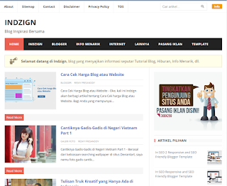 In SEO 2 Blogger Template