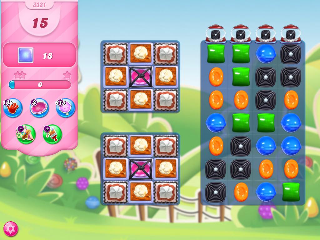 Candy Crush Saga level 3331