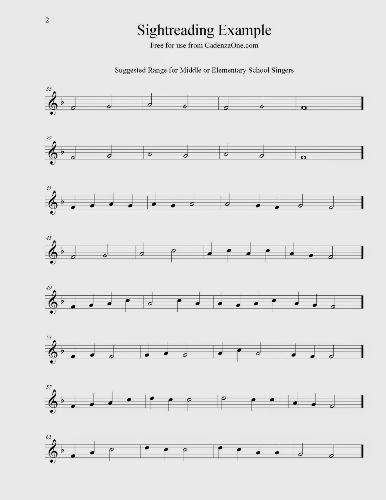 CadenzaOne- Make Better Music: I'd Like To Use Solfege, But I'm Not
