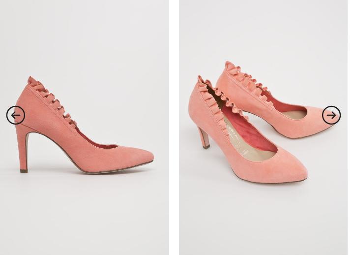 Tamaris - Pantofi femei roz din piele naturala eleganti