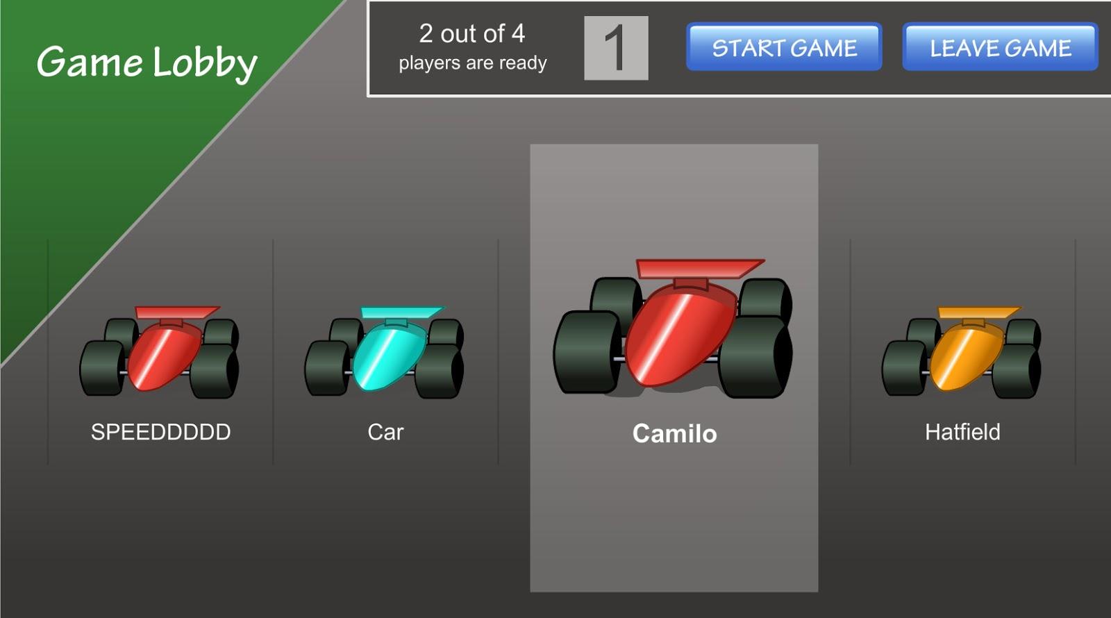 juego de carreras multiplicación