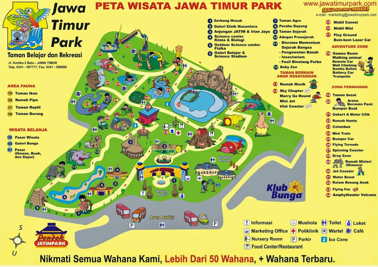 Sumber Narimo Transportasi: Wisata ke Jatim Park 1 atau ...