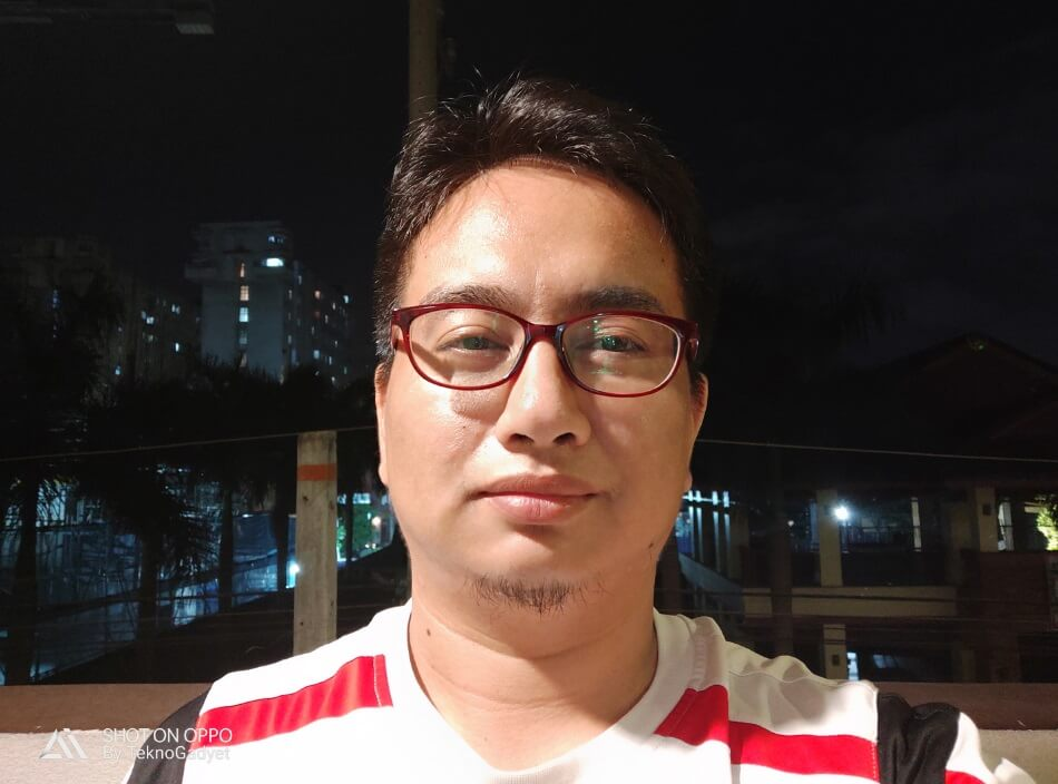 OPPO R17 Pro Front Camera Sample - Low Light Selfie